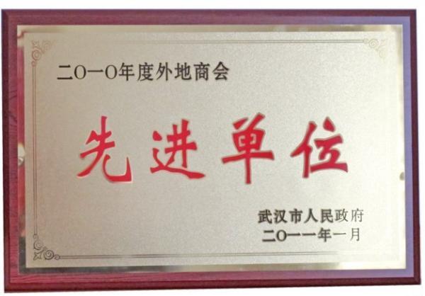 2011年1月被武汉市政府评为先进单位.jpg