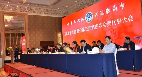 三届四次会员代表大会暨成立十周年庆典在汉举行