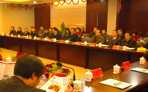 理事会成员赴鄂州考察(图片新闻二)