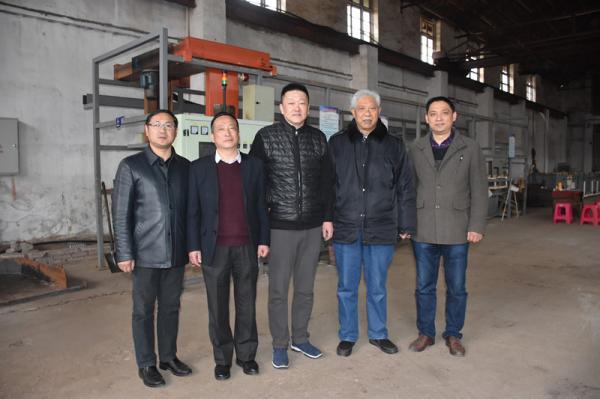 商会副会长汪斌等一行走访武汉瑞诚祥机械有限公司