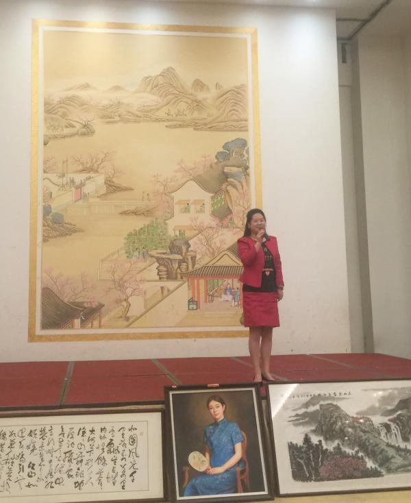 湖北省安徽商会徽文化研究中心 牵手阳光慈善书画作品鉴赏义拍活动在武昌举行