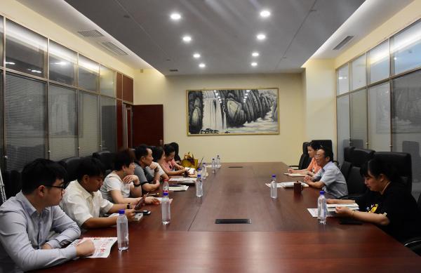 湖北省企业国际合作协会秘书长黄惠到访我会