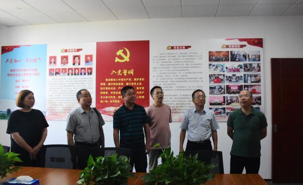 湖北省重庆商会执行会长何军一行到访我会考察交流