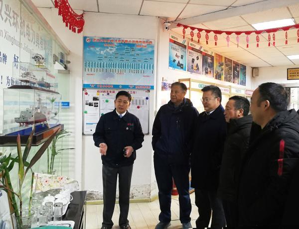 副会长丰书和考察武汉兴环刀具公司