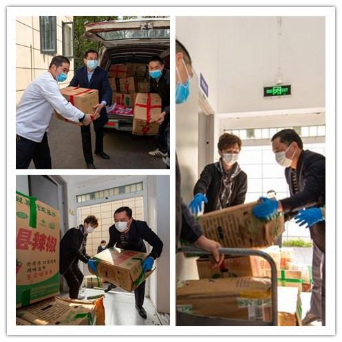 安徽和县16吨爱心蔬菜抵汉