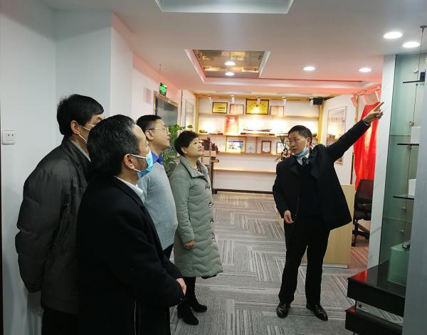 商会领导出席兴环刀具迁址仪式