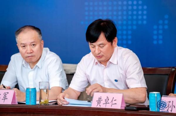 马占军会长出席湖北省企业国际合作协会五届一次会长办公会议