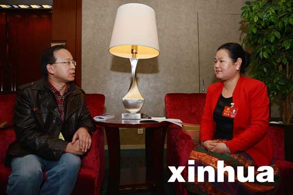 湖北两会皖籍代表访谈录(2):董玉霞